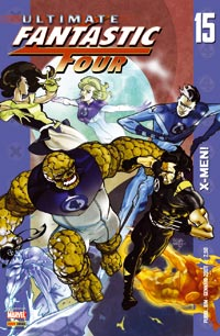 Copertina di Ultimate Fantastic Four n.15