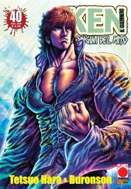 Copertina di Ken il guerriero – Le origini del Mito n.40