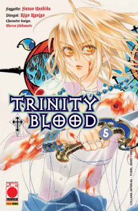 Copertina di Trinity Blood n.5