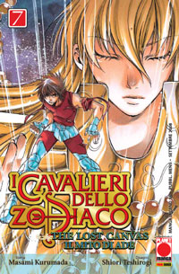 Copertina di I cavalieri dello Zodiaco Lost Canvas n.7