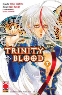 Copertina di Trinity Blood n.7
