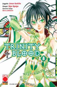 Copertina di Trinity Blood n.8