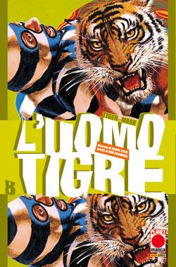 Copertina di L'uomo tigre – Tiger Mask n.8