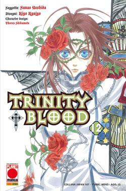 Copertina di Trinity Blood n.12