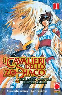 Copertina di I cavalieri dello Zodiaco Lost Canvas n.1