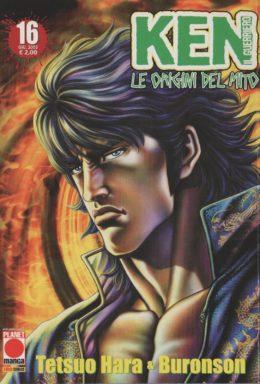Copertina di Ken il guerriero – Le origini del Mito n.16