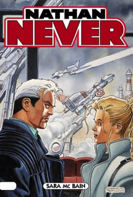 Copertina di Nathan Never n.187 – Sara Mc Brain
