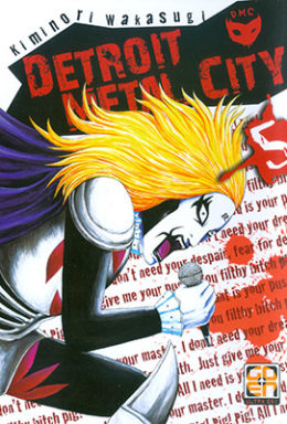 Copertina di Detroit Metal City n.05