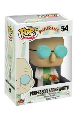 Copertina di Professor Farnsworth – Futurama -POP Animation n.54