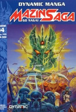 Copertina di Mazinsaga – Volume 04