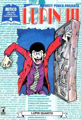 Copertina di Lupin III n.4 – Mitico n.4