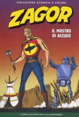 Copertina di Zagor n.6 – Collezione Storica a Colori