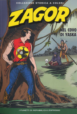 Copertina di Zagor n.5 – Collezione Storica a Colori