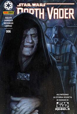 Copertina di Star Wars: Darth Vader n.006 Cover A Panini Dark n.6