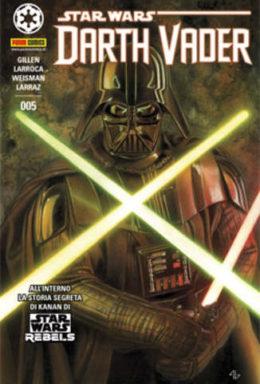 Copertina di Star Wars: Darth Vader n.005 Cover A Panini Dark n.5
