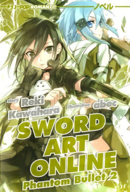 Copertina di Sword art online novel 6 phantom 2