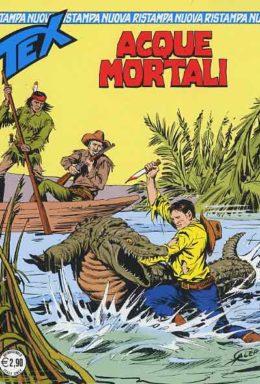 Copertina di Tex Nuova Ristampa n.332 – Acque mortali