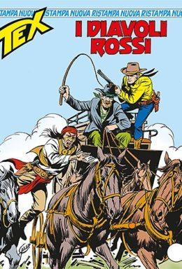 Copertina di Tex Nuova Ristampa n.339 – I diavoli rossi