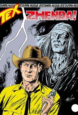 Copertina di Tex Nuova Ristampa n.347 – Zhenda!
