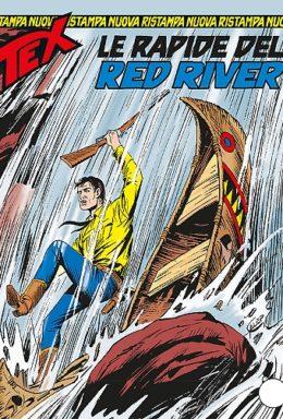 Copertina di Tex Nuova Ristampa n.344 – Le rapide del red River