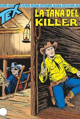 Copertina di Tex Nuova Ristampa n.345 – La tana del Killer