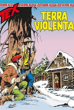 Copertina di Tex Nuova Ristampa n.341 – Terra Violenta