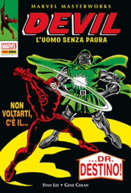 Copertina di Marvel masterworks – Devil l'uomo senza paura n.4
