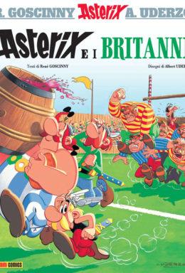 Copertina di Asterix E I Britanni