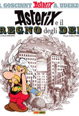 Copertina di Asterix e il regno degli dei