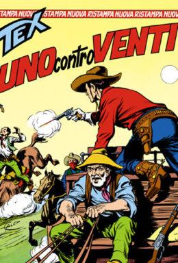 Copertina di Tex Nuova Ristampa n.2 – Uno contro venti
