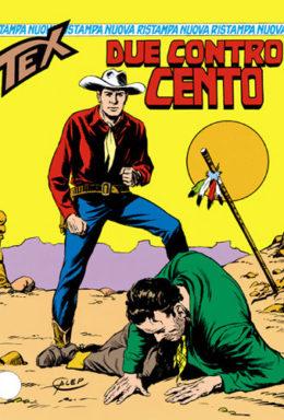 Copertina di Tex Nuova Ristampa n.8 – Due contro cento