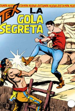 Copertina di Tex Nuova Ristampa n.14 – La gola segreta