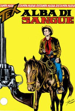 Copertina di Tex Nuova Ristampa n.21 – Alba di sangue