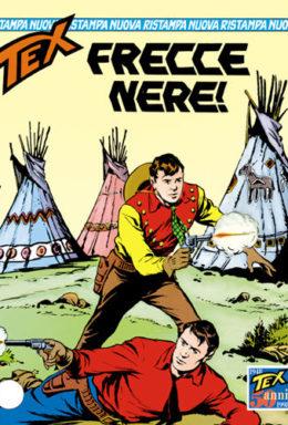Copertina di Tex Nuova Ristampa n.26 – Frecce nere