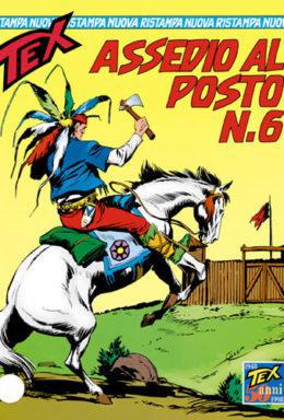 Copertina di Tex Nuova Ristampa n.27 – Assedio al posto n.6