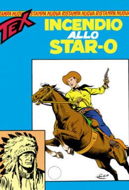 """Copertina di Tex Nuova Ristampa n.42 – Incendio allo """"Star-O"""""""