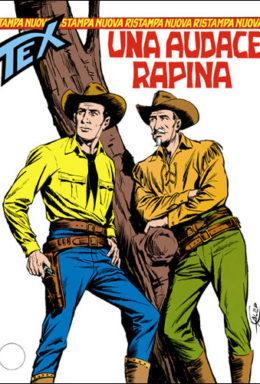 Copertina di Tex Nuova Ristampa n.44 – Un audace rapina
