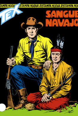 Copertina di Tex Nuova Ristampa n.51 – Sangue navajo