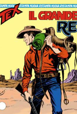 Copertina di Tex Nuova Ristampa n.53 – Il grande re