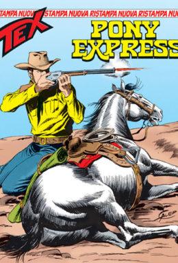 Copertina di Tex Nuova Ristampa n.73 – Pony Express