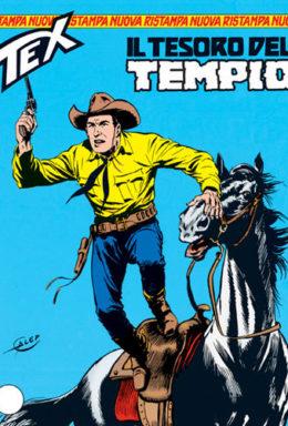 Copertina di Tex Nuova Ristampa n.77 – Il tesoro del tempio