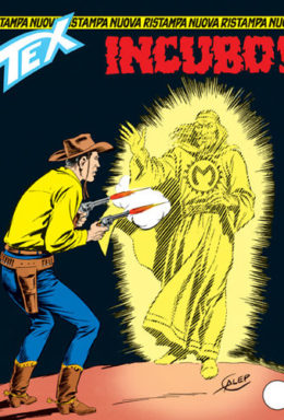 Copertina di Tex Nuova Ristampa n.78 – Incubo!