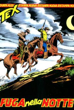Copertina di Tex Nuova Ristampa n.90 – Fuga nella notte