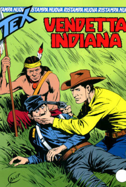 Copertina di Tex Nuova Ristampa n.91 – Vendetta indiana
