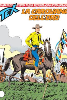 Copertina di Tex Nuova Ristampa n.95 – La carovana dell'oro