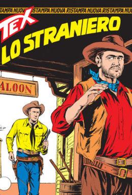 Copertina di Tex Nuova Ristampa n.97 – Lo straniero