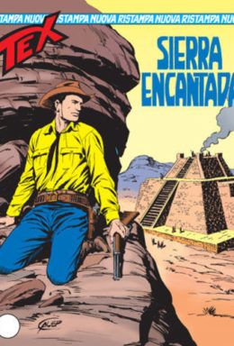Copertina di Tex Nuova Ristampa n.102 – Sierra Encantada