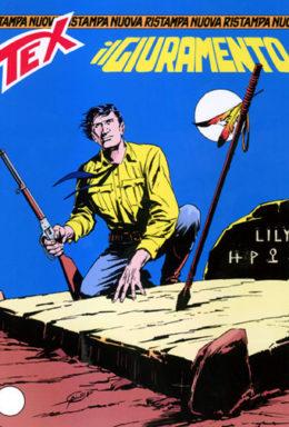 Copertina di Tex Nuova Ristampa n.104 – Il giuramento