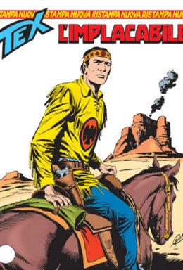 Copertina di Tex Nuova Ristampa n.105 – L'implacabile