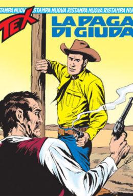 Copertina di Tex Nuova Ristampa n.106 – La paga di Giuda